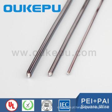 transformadores de poliamida-imida 6.0 * 6,0 mm de preço direto de fábrica quadrada fio magnético