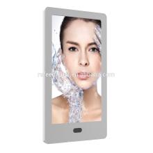 2018 innovative ideas android magic mirror photo frame with motion sensor