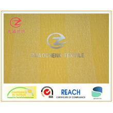 21W N / P Spacer Bar Velours côtelé Tissu collé couleur jaune (ZCCF025)