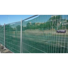 powered temporary fence