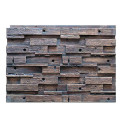 Low Price Environmental Protection PU Boat Wood Panel Wall Panel For Decoration Indoor