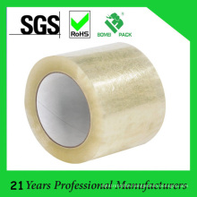 72mm Width BOPP Transparent No Bubble Packing Tape