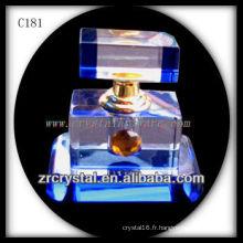 Belle bouteille de parfum en cristal C181