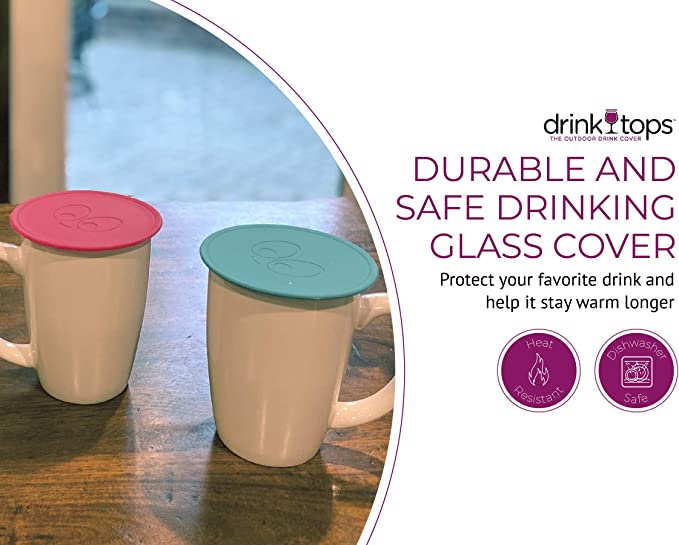 Silicone Drink Tops Cover