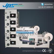 Fünf Farbrolle Kraftpapier Druckmaschine