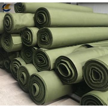 Tissu de polyester pour la couverture de camion