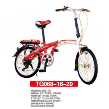 Newest Model of Red Folding Bicycle 20 Inch