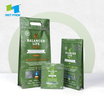 Reseal Recycleable Tas Biodegradable Zipper Kantong Kompos