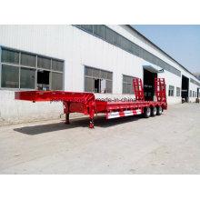 40-60 Ton Low Flatbed Semi Trailer 13meters Truck Trailer Trucks