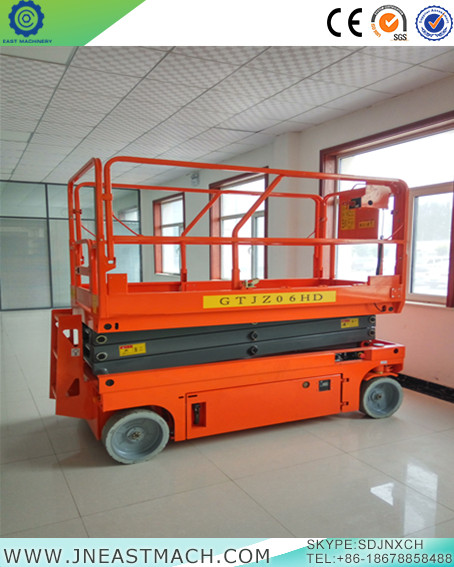 Canada Mobile Scissor Lift Ce Approved 6 14m Self Propelled Scissor Lift For Sale