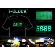 [Супер дело]оптом 2009 мода горячие продажа футболка А20,El футболки,LED футболки
