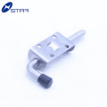Factory spring loaded bolt latch assembly for truck body parts
