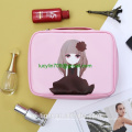 Travel Small Cosmetic Bag Set for Women Lovely Light Waterproof Make Up Bag Tote Purse