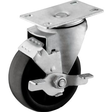 Rodas PP para serviços médios com travão de rodagem