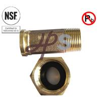 NSF-61 aprobado sin plomo Acoplamiento de medidor de agua de bronce o latón
