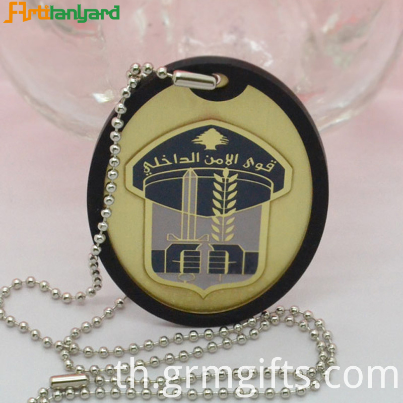 Customized Iron Dog Tag