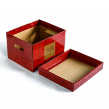 Custom Print Foldable Corrugated Storage Packaging Box