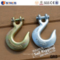 Forged Carbon Steel Galvanized Slip Lifting Hooks