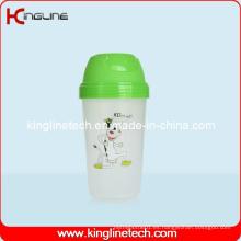 BPA libre, 250ml botella plástica del coctelera de la proteína (KL-7065)