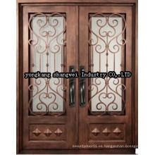 Puerta del panel de la seguridad elegante de la alta calidad