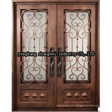 High Quality Elegant Security Exterior Panel Door
