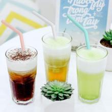 Hot Sale Amazon BPA-Free Silicone Straws Drinking