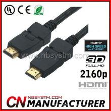 Cabo HDMI de 180 graus