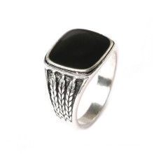 Square Gemstone Make Fashion Jewelry Cheap Alloy Rings