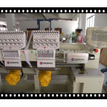 2 Head hat embroidery machine with 9 needles computer operation hot sale