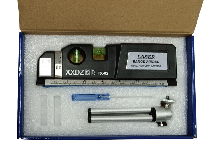 FX-02 3 In 1 Laser Level Rangefinder Inner Package