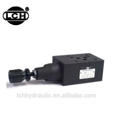 Cetop 3 válvula redutora redutora de alívio de pressão