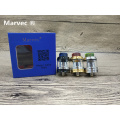 Newest Box Mod 75W Vape Mod US GENE Chip Powered By 18650 20700 21700 Battery Electronic Cigarettes Mod
