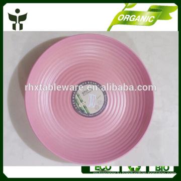 biodegradable fruit tray bamboo fiber dinner plate