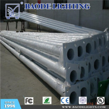 10m with Arm Galvanized Steel Street Lighting Pole (BDP09)