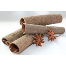 Cassia / Cinnamon, presionado, tubo, fractura, casia entera, roto