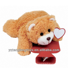 China Wholesale Hot Water Bottle Plush Bear Cover
