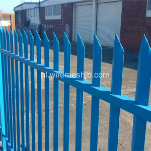 Gepoedercoat High Security Palissadeomheining