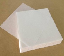 Food grade low weight glassine release paper