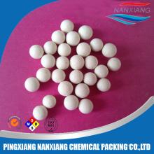boules inertes en aluminium de fabricant de boule en céramique chimique de prix le plus bas pour le support de catalyseur 17% -99% (3/6/13/19/25/38 / 50mm)