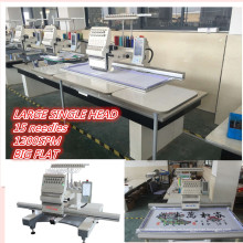 HOLiAUMA Flat Single Head 15 agujas automatizadas máquina de bordado