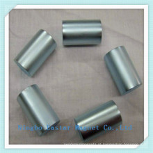 N45 Revestimento de zinco cilindro ímã de neodímio permanente