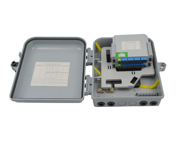16 Core Fiber Optic Terminal Box