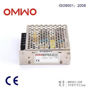Salida simple Nes-35-24 Fuente de alimentación de conmutación 220V 24V