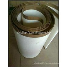 Ptfe cfoated fibre de verre tissu convoyeur alibaba porcelaine fournisseur