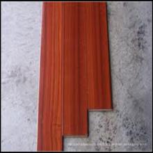 Suelos de madera sólida de Sapele de calidad