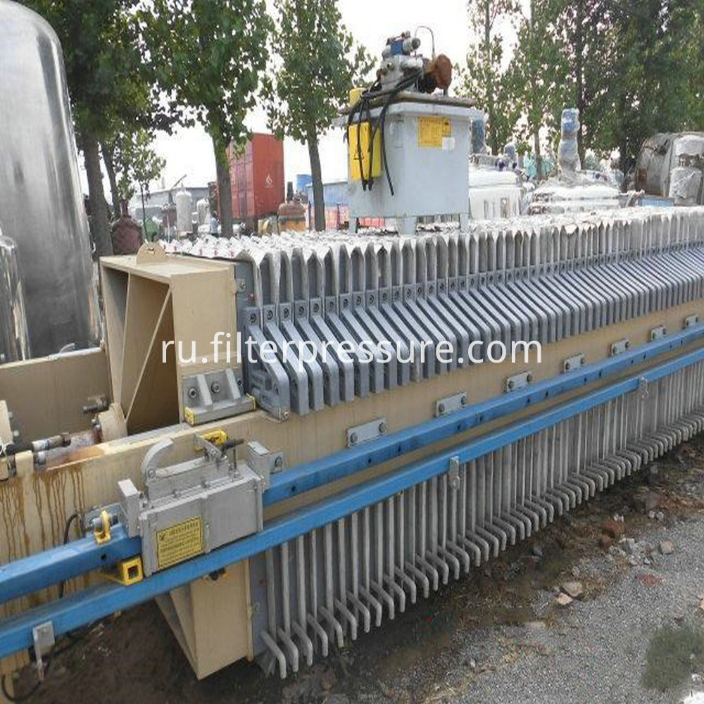 Sewage Plate Frame Filter Press 1