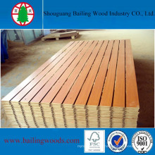 Best Price Melamine Slot MDF From Chinese Manufacturer