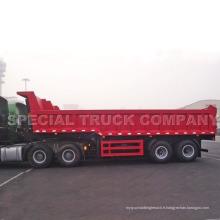 Camion à benne basculante semi-remorque Sinotruk