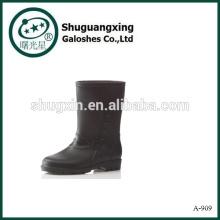Buena nueva moda botas de lluvia botas botas de lluvia A-909 de hombres PVC lluvia Botas Hombre