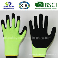 Foam Latex Coated Gardening Work Safety Gloves